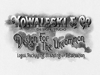 Custom type for personal branding