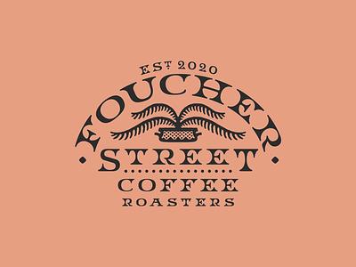 Foucher Street Coffee artwork graphic design freelance design hand drawn typography branding coffee logo