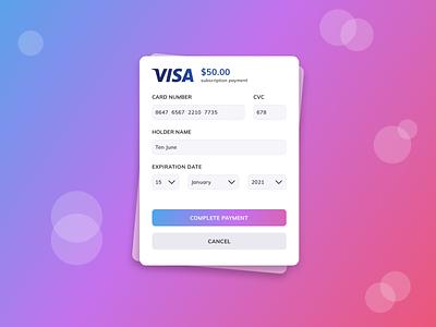 Payment mobile app mobile web ui simple flat add card card visa payment methods payment branding logo illustration web vector sketch dribbble design ux