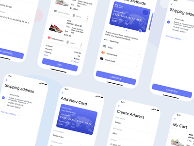 Product Checkout Flow credit card daily ui cart card ecommerce checkout flow product web design mobile branding logo illustration app ui web ux sketch dribbble design