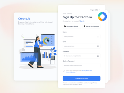 Web Design chart daily ui login motion graphics animation dribbble sign up sign in inspiration inspire product design illustration ui ux logo android ios web mobile web design