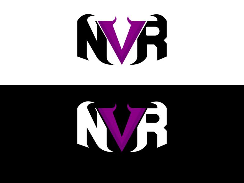 NVR Logo Rebrand vector graphic esport illustrator design logo branding logodesign logo design logo mark