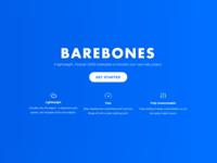 Barebones Homepage