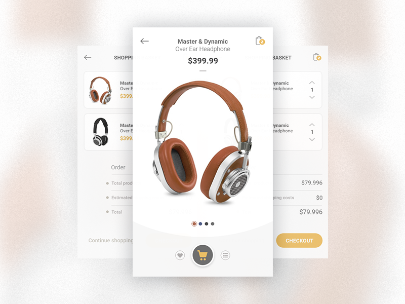Shop / Checkout / Study checkout shop app study