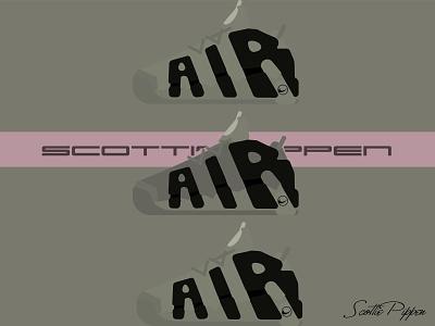 Scottie Pippen ui 品牌 设计 illustration 插图