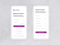 CartHunt | Onboarding Screen | Login | Signup #3