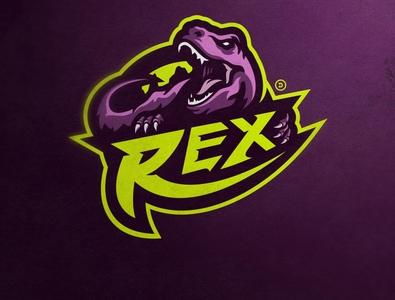 REX twitch logo twitch mascotlogo gamestreamer games logo game design mixer logo esports mascot illustration gamelogo mascot logo design gaminglogo esportlogo
