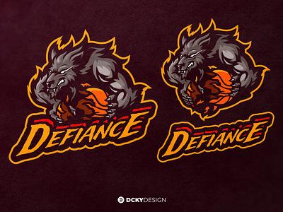 DEFIANCE NBA 2K LOGO nba poster nba logo nba2k nba twitch logo esports gamelogo mascot mascot logo illustration gaminglogo design esportlogo