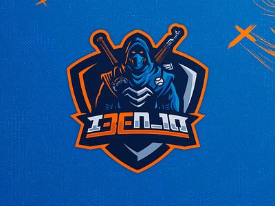 I3EN_10 twitch logo twitch mixer esports gamelogo mascot mascot logo illustration gaminglogo design esportlogo