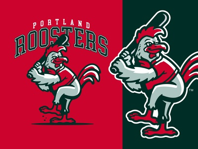 BASEBALL ROOSTERS MASCOT baseball logo roosterlogo roosters baseball branding logo esports gaminglogo mascot esportlogo design mascot logo illustration