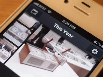 Everpix iPhone App! ios iphone mobile ui