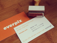 Business Card & Stamp