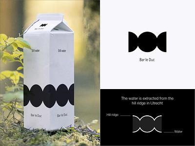 Bar le duc - Logo Design aqua simplicity icon branding bar le duc water hills dots dot circles circle logo