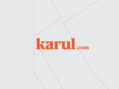 Snowboard logo Karul brand identity brand design orange karul illustrator mark logo design logodesign logotype typography icon branding design logo