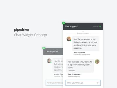 Chat Widget Concept