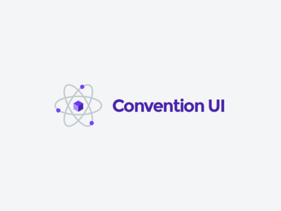 Convention UI react component library logo