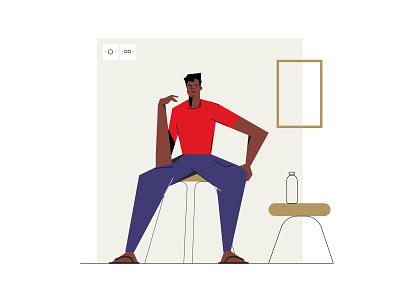 HEY! web graphicdesigner illustrationartist ui digital designer minimal graphic illustration design