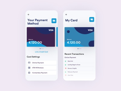 Bank App minimalist mobile app design mobile design mobile app mobile ui mobile application apple app design app bank card bank app banking app banking bank ux ui designer minimal design