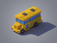 Isometric Bus