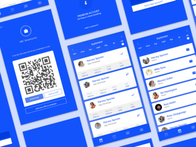Attendance App designs, themes, templates and downloadable graphic