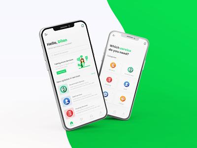 Servo - Mobile Application 3 serviceapp dailyuiux mobileapp userinterface interface visual design adobexd uiux figma f ui