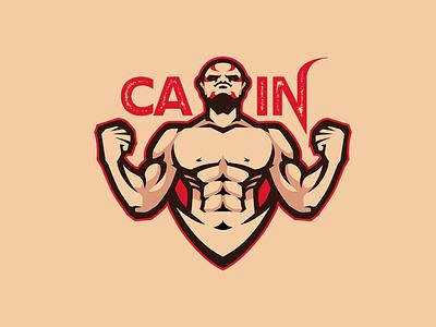 CAIN logos sports logo esports lgo mascot logo branding logo motion graphics graphic design 3d animation ui