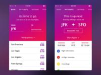 Airline App Concept