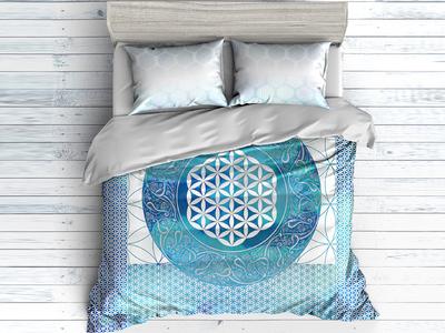 Flower of Life bedding meditation sacredgeometry sacred floweroflife bedding sheets bedding textile print textile