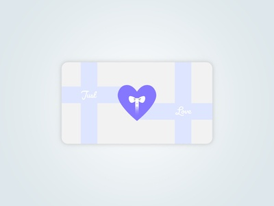 Just Love Gift Card