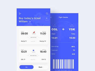 Boarding pass 1 ticket ui boarding pass design