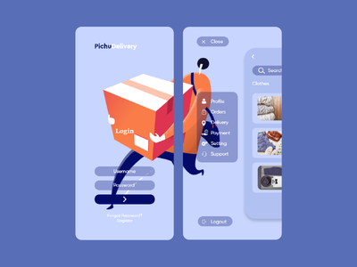 PichuDelivery app