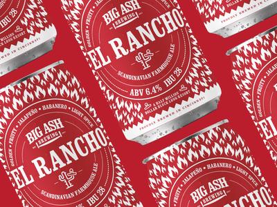 El Rancho Spiced Jalapeño Can Design