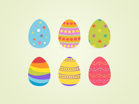 Easter Eggs Freebie