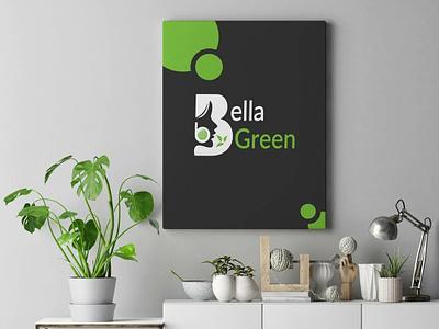 Logo Design/Bella Green beauty product beauty logo beauty organic logo design branding bella green design logo design