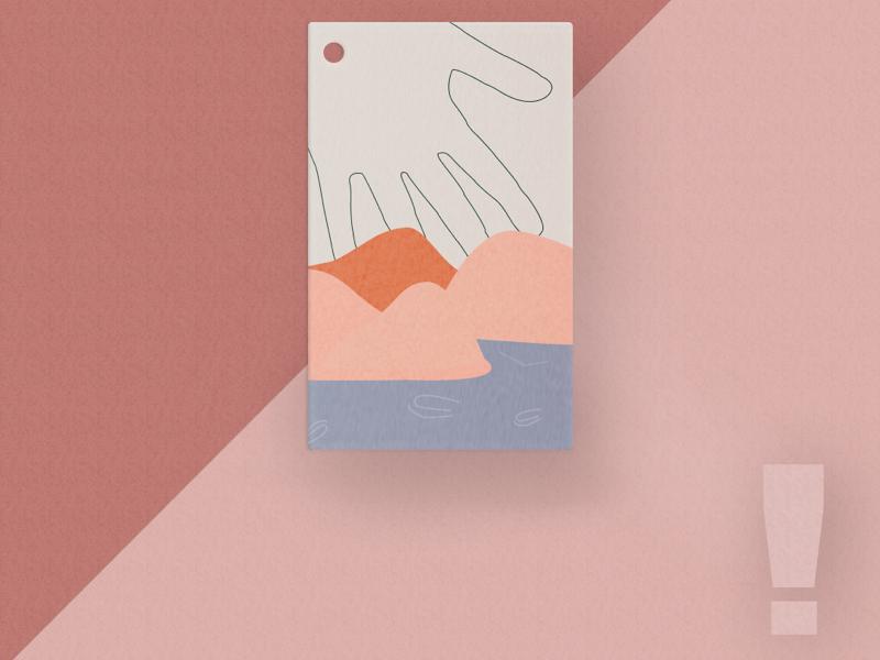 Take my hand hand design inspiration branding designer