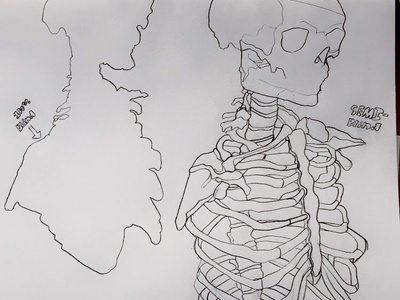 Blind and Semi Blind Skeleton