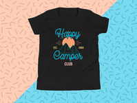 Happy Camper Club T-shirt