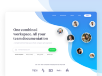 Collaboration Landing Page