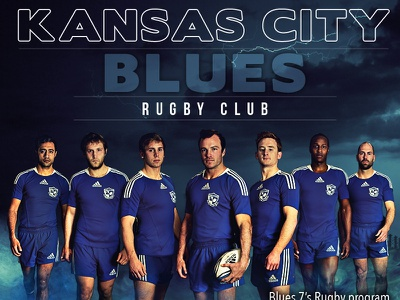 Cover Page - Kansas City Blues Rugby Club rugby kansas city hdr magazine cover cover page