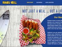 Kahuku Grill Website