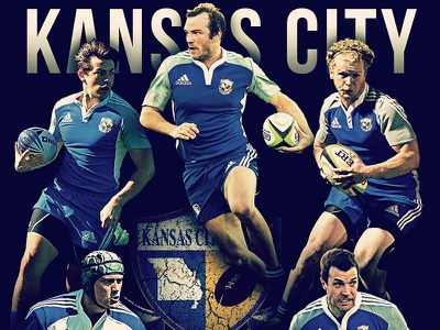 Kansas City Blues Rugby Cover 2014 rugby magazine cover kansas city