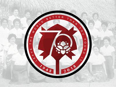 Adi Cakobau Secondary 70th Logo all women school school acs fiji fiji