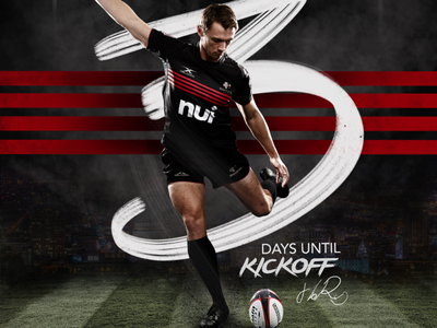 Utah Warriors Rugby Composite procreate photoshop composite rugby