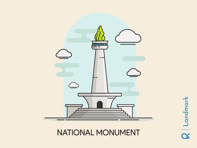 National Monument ( Jakarta, Indonesia )