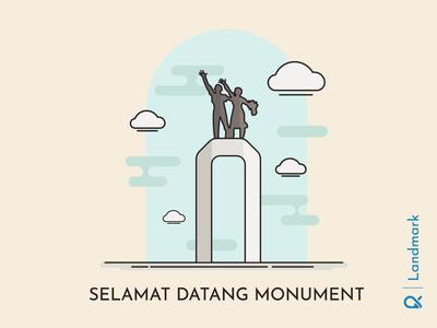 Selamat Datang Monument ( Jakarta, Indonesia )