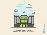 Jakarta Kota Station ( Jakarta, Indonesia )