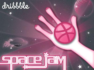 dribbble / space jam vs. 2