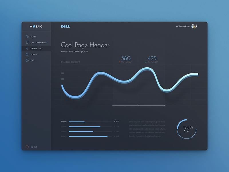 Dashboard Update satistic interface ui application web design material gui google administration dashboard monitoring