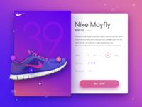 Nike Sneakers UI