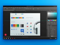 Photoshop in Material Design